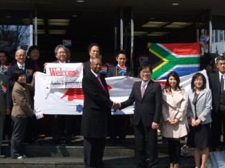 Minister-Counsellor of Science and Technology of South African Embassy visited Asahi University !