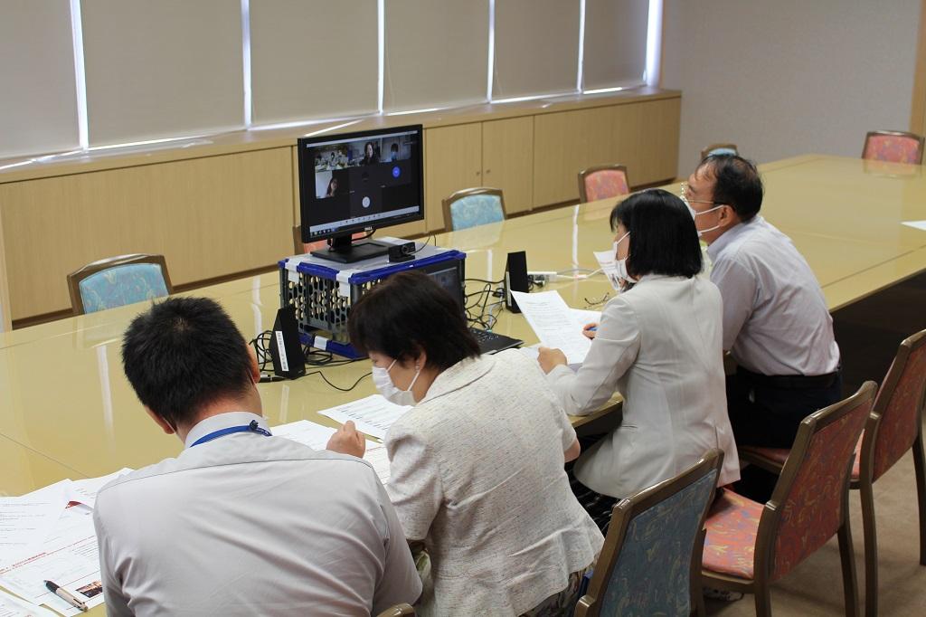北京大学看護学院とのオンライン会議開催!!