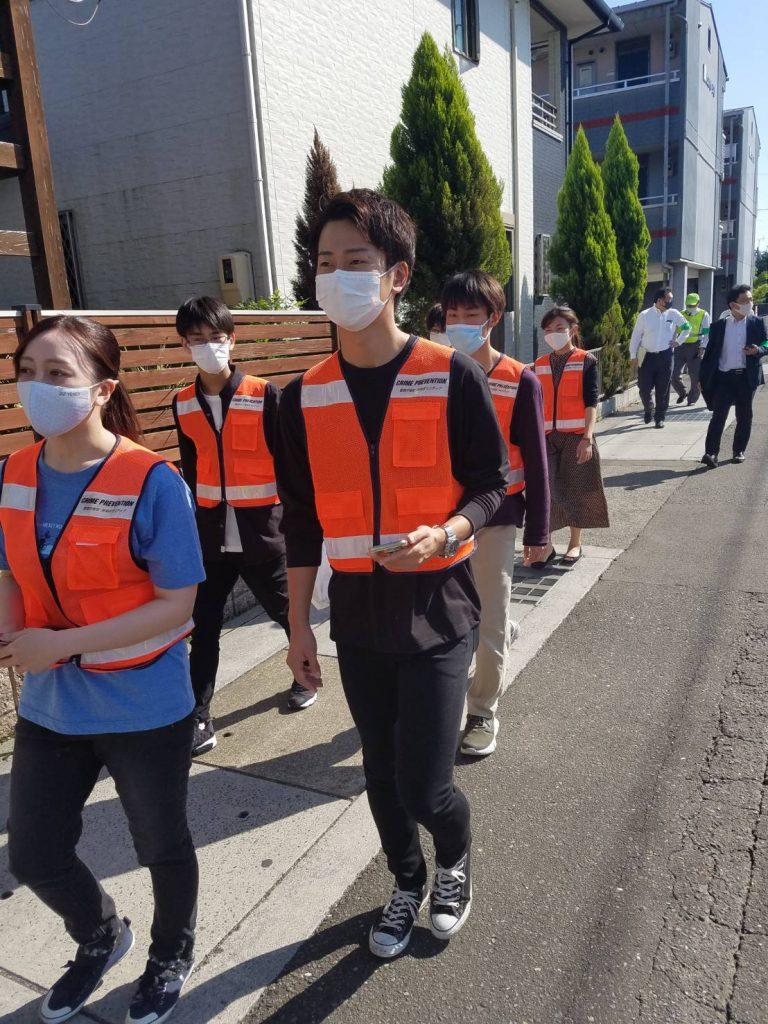 防犯ボランティア団体『めぐる』の 地域防犯活動が報道番組で放映されます。