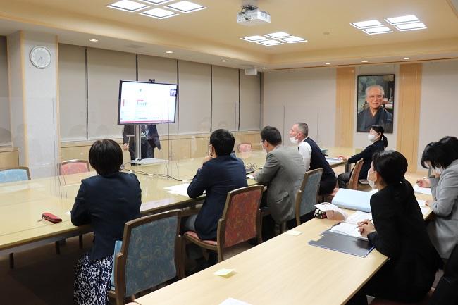 北京大学看護学院との第2回オンライン会議開催!!